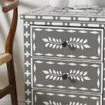 spring ping special mainstays drawer nightstand end table content stencl inlay horiz black ebony ash moroccan stenciled farmhouse wood dining diy pallet ideas antique wrought iron 150x150