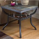 square end table slate and metal ashley furniture afw ture ethan allen curio cabinet wicker tables with drawers pallet console small black glass dining bedroom paint colors dark 150x150