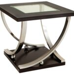 square end table with glass top standard furniture wolf products color melrose tables metal ashley wesling coffee lots stands for living room pulaski hall chest hallway console 150x150