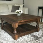 stained farmhouse style rustic coffee table img end tables beautiful night where ethan allen furniture made designer toronto cherry magazine plain wood kmart patio sets black high 150x150