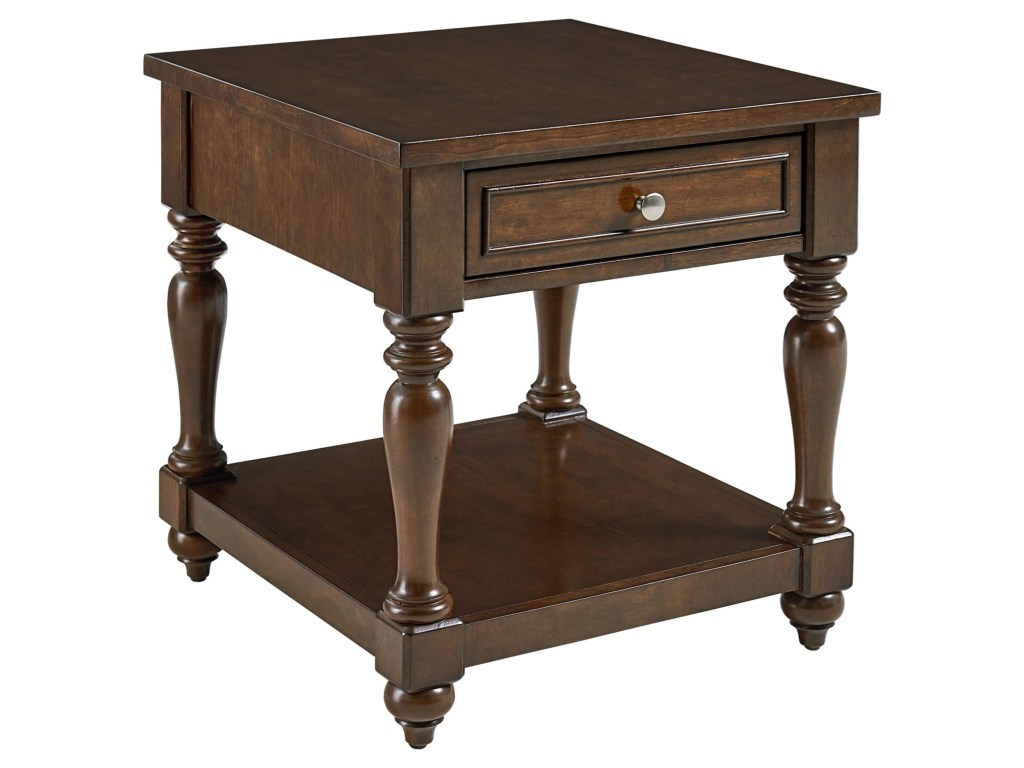 standard furniture mcgregor tradtional end table dunk products color tables transitional accent tall bathroom storage broyhill sofa very small oak side lexington chaise lounge