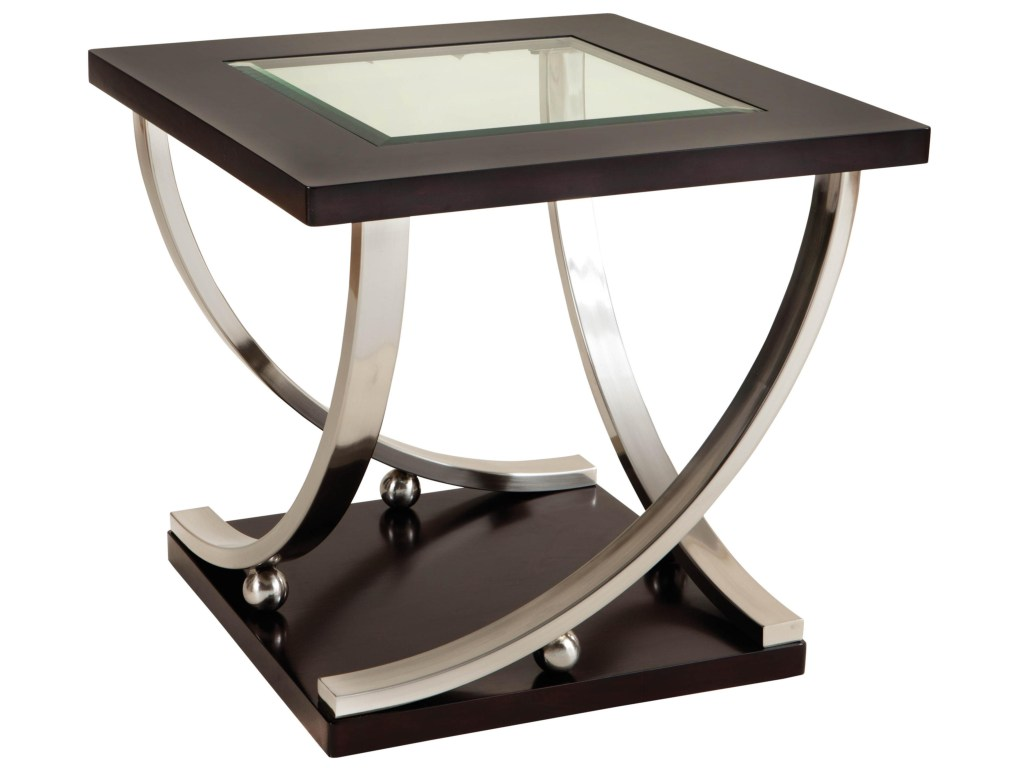 standard furniture melrose square end table with glass products color top black oval coffee magazine rack side lamp small round kitchen endota marion home outdoor royal waltham
