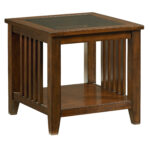standard furniture rio dark brown cherry end table the classy home std silo click enlarge best dog cage design powell mirrored what color pillows with couch distressed gray 150x150