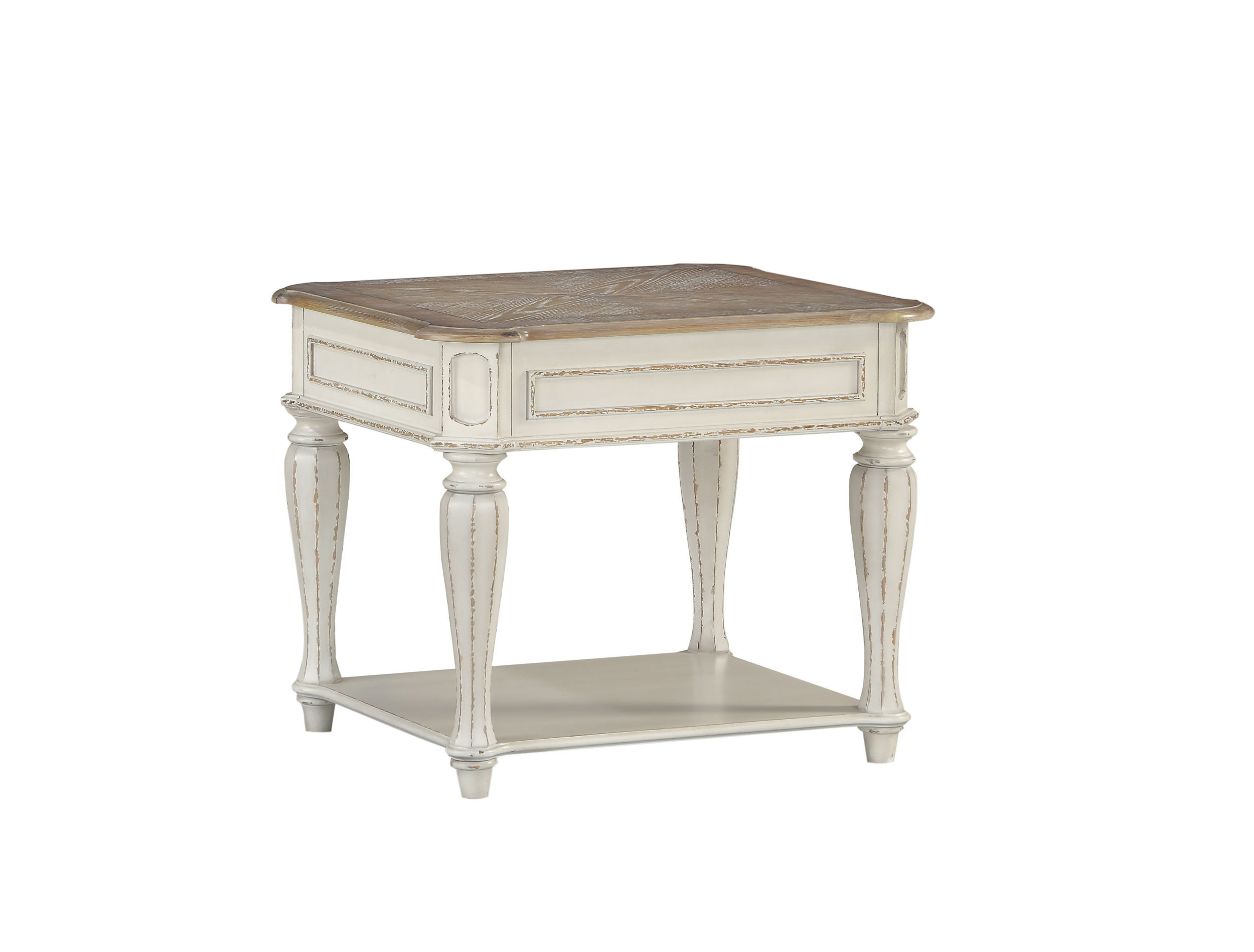 standard furniture stevenson manor white end table the classy home std distressed look tables click enlarge xxl dog crate ashley dining set black high gloss console cool side