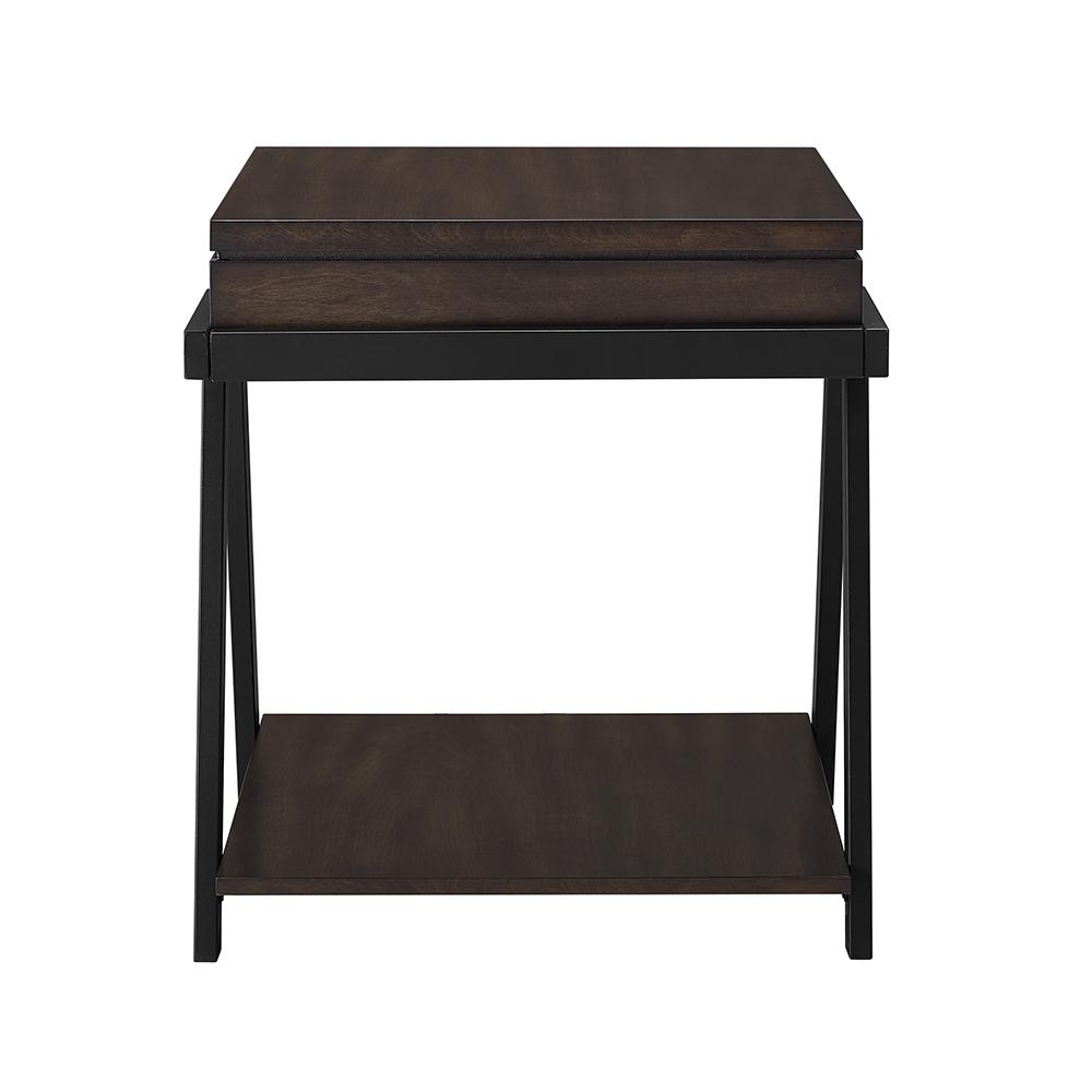 steve silver artemis contemporary mocha end table the home brown tables black cool metal find coffee ashley furniture south shore oval wood and gloss sideboard surrey magnolia