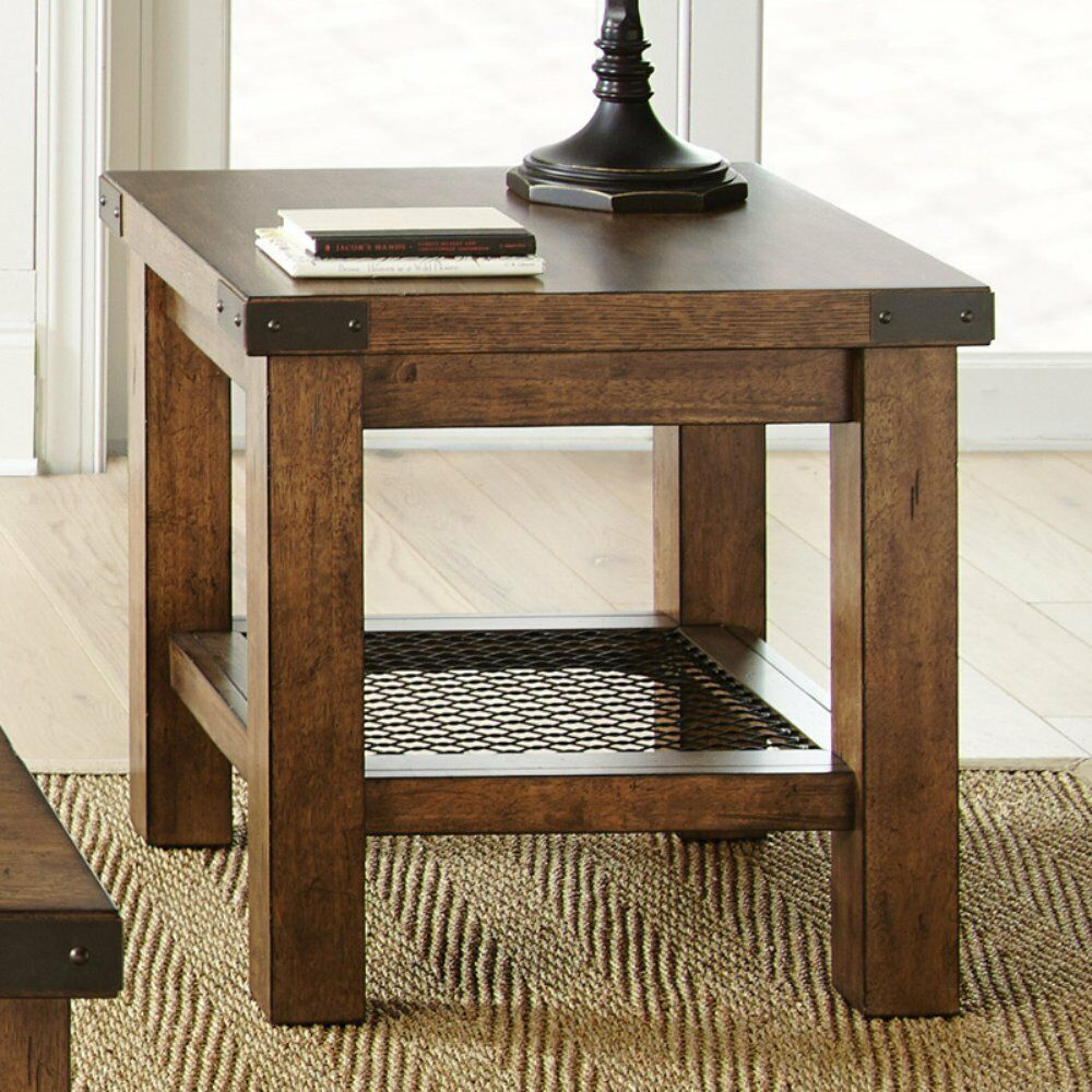 steve silver hailee end table distressed oak tables details about coffee sofa out pallets columbus bedroom furniture grey walls and brown cream colored unique nesting puzzle with