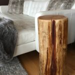 stump end table tall tree trunk for bedside diy pallet dog kennel glass dining base ideas with wicker drawers bluestone parsons coffee paint colors dark wood furniture making high 150x150