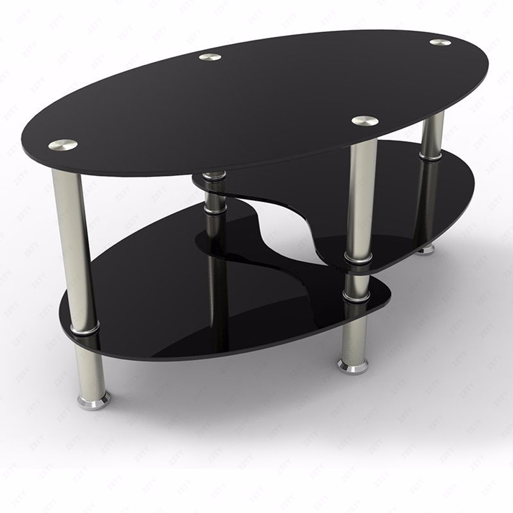 suncoo glass coffee table for home office sturdy chrome sdlkbqfl oval end base with tire tempered boards smooth modern tea living room tables kmart bedding sets unfinished