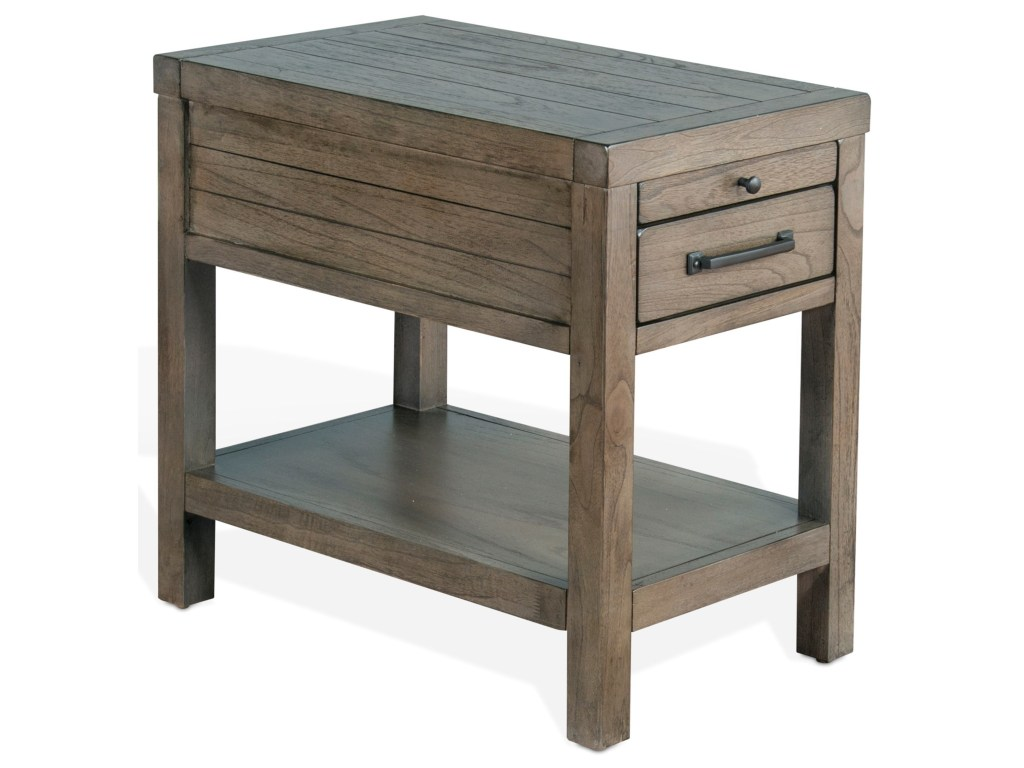 sunny designs glasgow rustic chair side table with felt lined top products color end tables glasgowchair ethan allen swedish home collection coffee glass and storage homesense