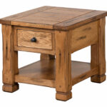 sunny designs sedona end table rustic oak tables details about powell masterpiece jewelry armoire inch outdoor brass and glass nesting stanley cottage furniture liberty ocean isle 150x150