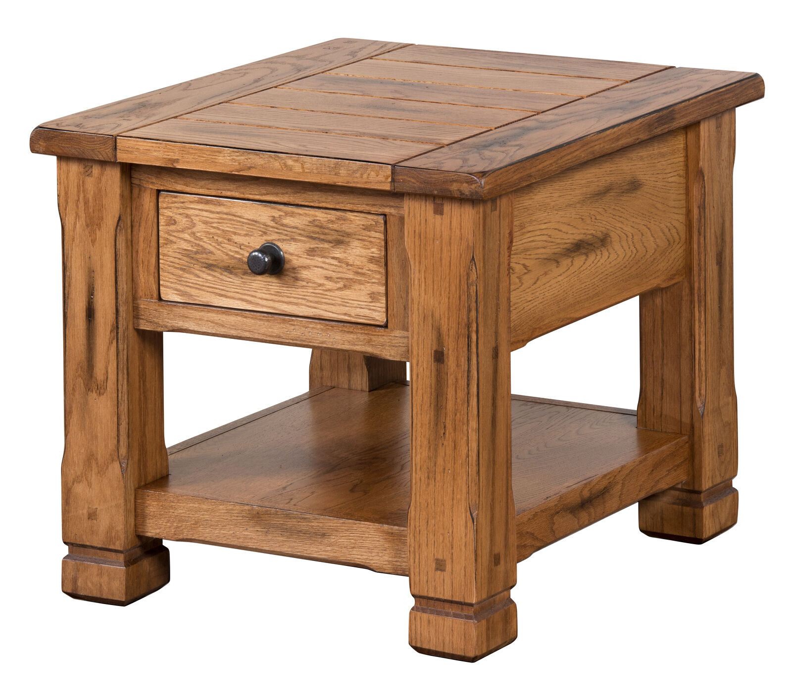 sunny designs sedona end table rustic oak tables details about powell masterpiece jewelry armoire inch outdoor brass and glass nesting stanley cottage furniture liberty ocean isle
