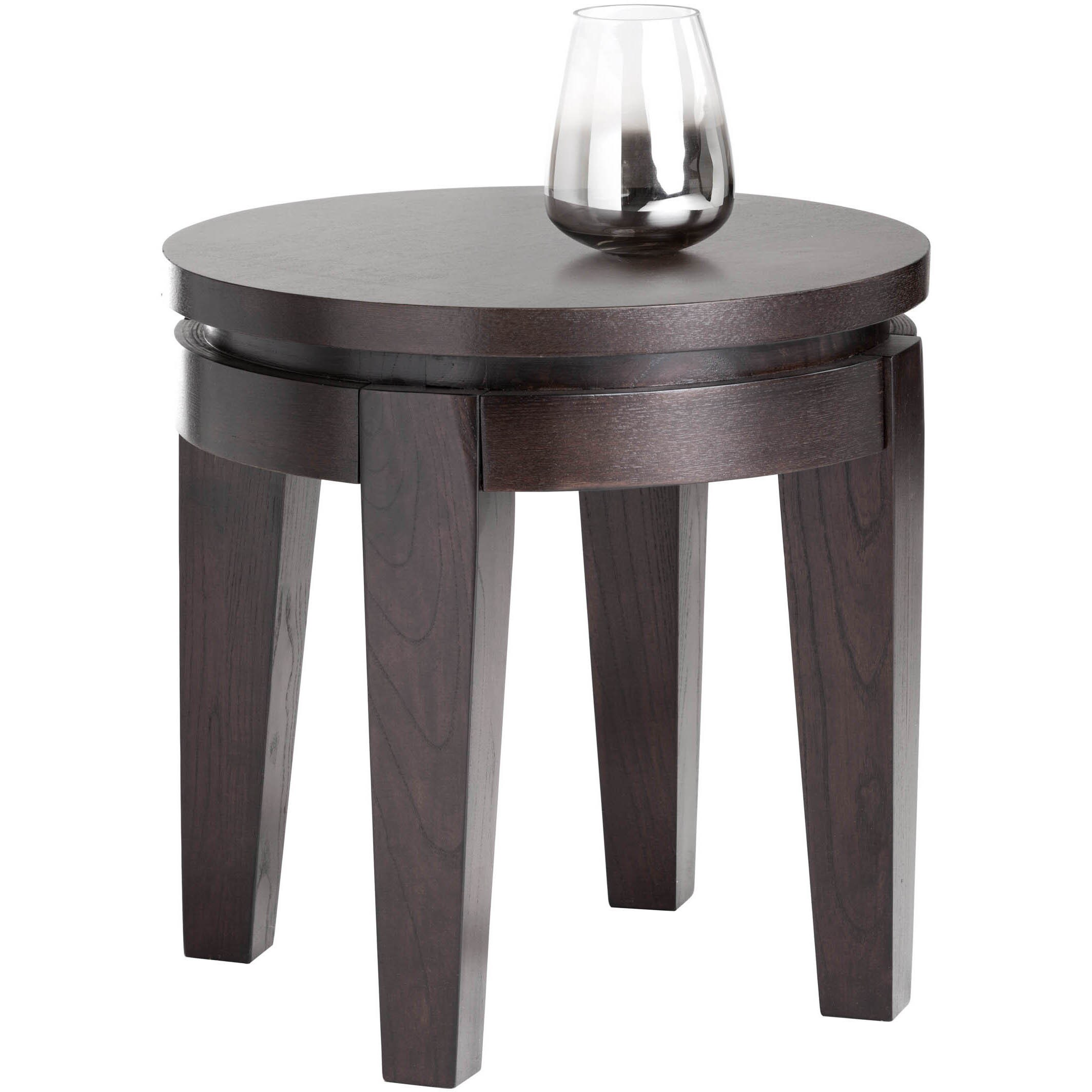 sunpan ikon asia round espresso end table free shipping today ashley furniture south shore average side height red bedside bathroom cabinets over toilet replacement top for
