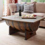 super cool homemade coffee table ideas unusual tables whiskeytable wood end diy whiskey barrel saarinen side lexington furniture dresser laura ashley bar stools futon lounger 150x150