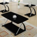 table set modern black veneer and silver metal come altra coffee end tables piece together form the ultra material med paper homesense throws dark furniture upholstery temecula 150x150