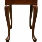 the bombay company queen anne banded mahogany end accent table how much space between sofa and coffee inch high console condo furniture vancouver pulaski san mateo barnwood 150x150