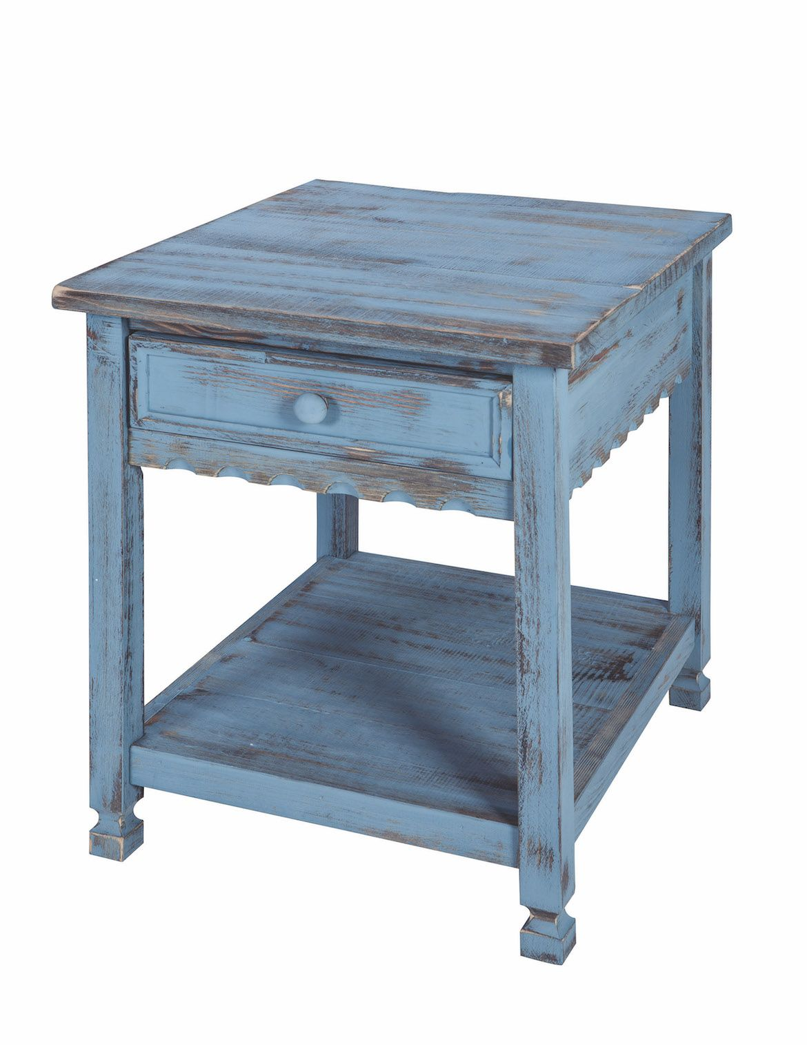 the country cottage style end table functional and stylish one tables drawer single shelf keep your room neat organized distressed finish gives north shore small modern glass