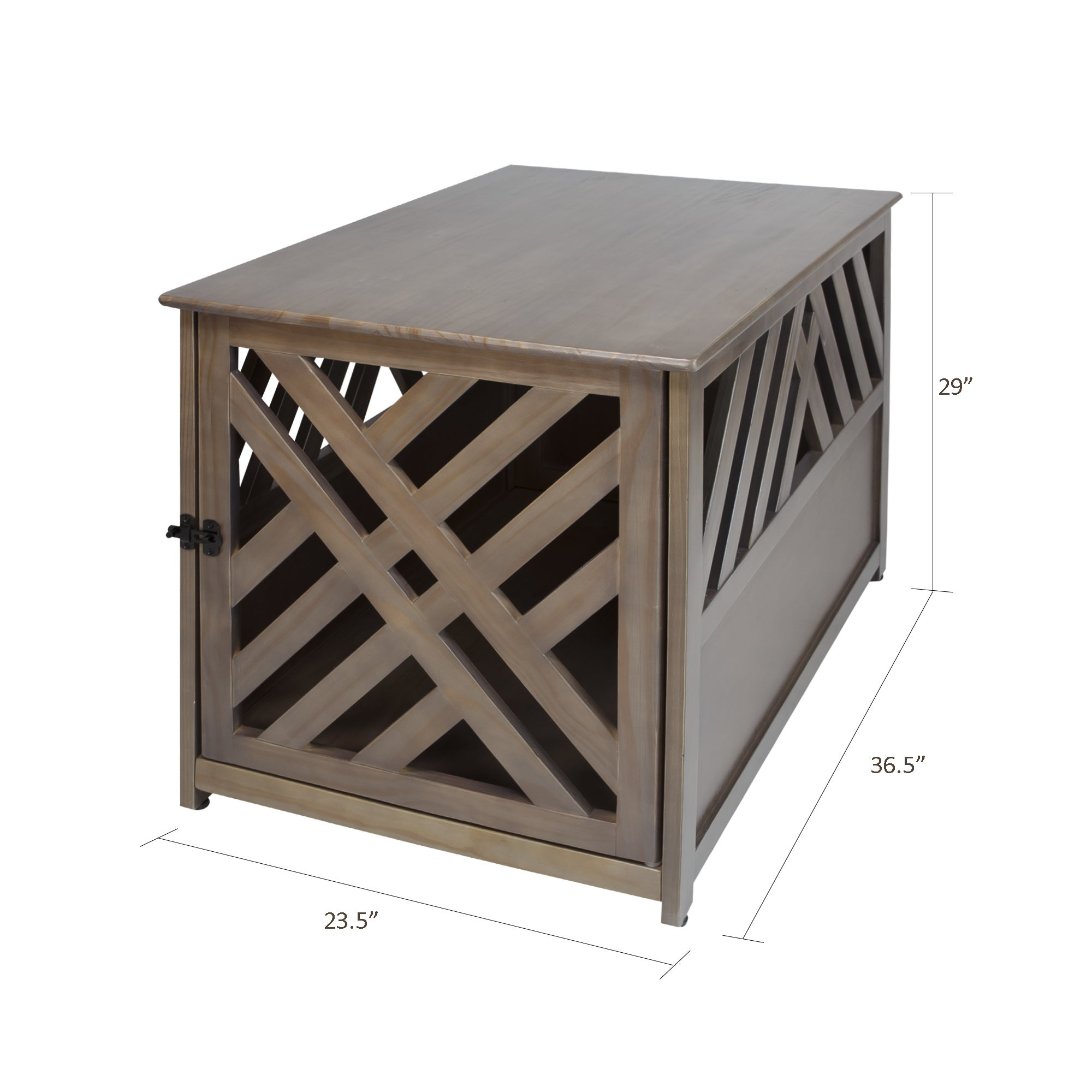 the gray barn haney jardine lattice grey wooden pet crate end modern table dog free shipping today mainstays office chair instructions sofa whole laura ashley beds small outdoor