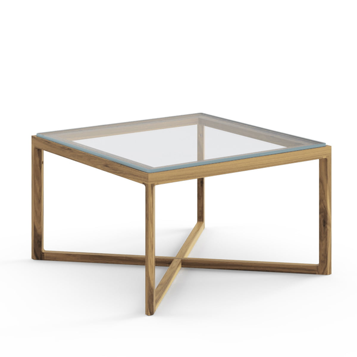 the marc krusin side table from knoll niedrigerbeistelltisch eiche natur glas oak end tables with glass top clear bedside units console behind sofa faux marble piece coffee and