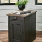the tyler creek grayish brown black chair side end table available tables granite and wood coffee gloss lamp diy plum pipe industrial with drawer target mirrored furniture tile 150x150