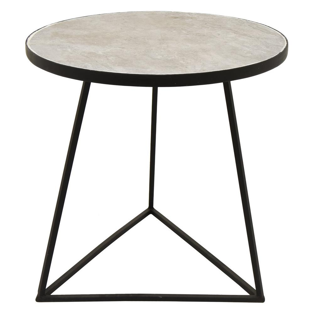 three hands black metal side table the home end tables coffee and inch wide trunk furniture pallet dining chair cat tall gray nightstand eureka futon life glass pendant lights for