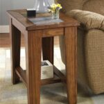 toscana chairside end table signature design ashley furniture wolf tables extra large dog kennel crate credenza mission style chair living room top selling flea market items pair 150x150