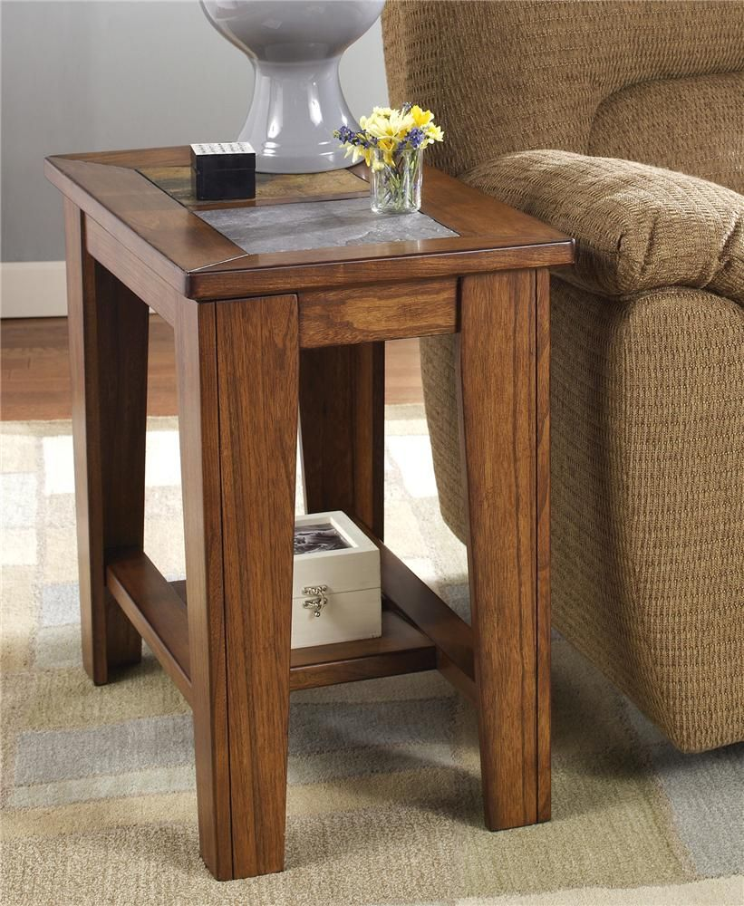 toscana chairside end table signature design ashley furniture wolf tables extra large dog kennel crate credenza mission style chair living room top selling flea market items pair