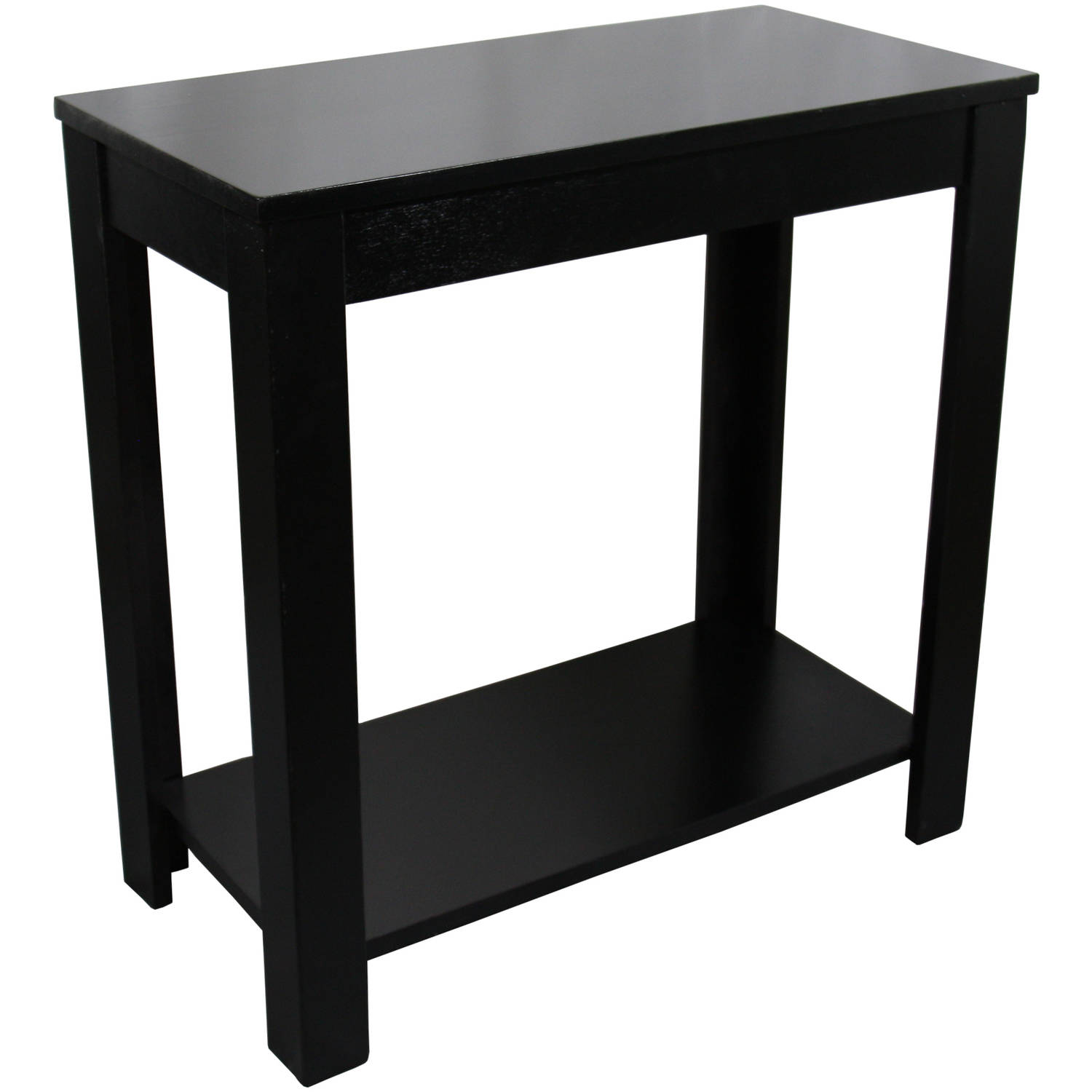 traditional dark cherry side end table black sofa tables pottery barn buchanan tree stump coffee toronto living room sets crystal bedside lamps sears tile that looks like wood