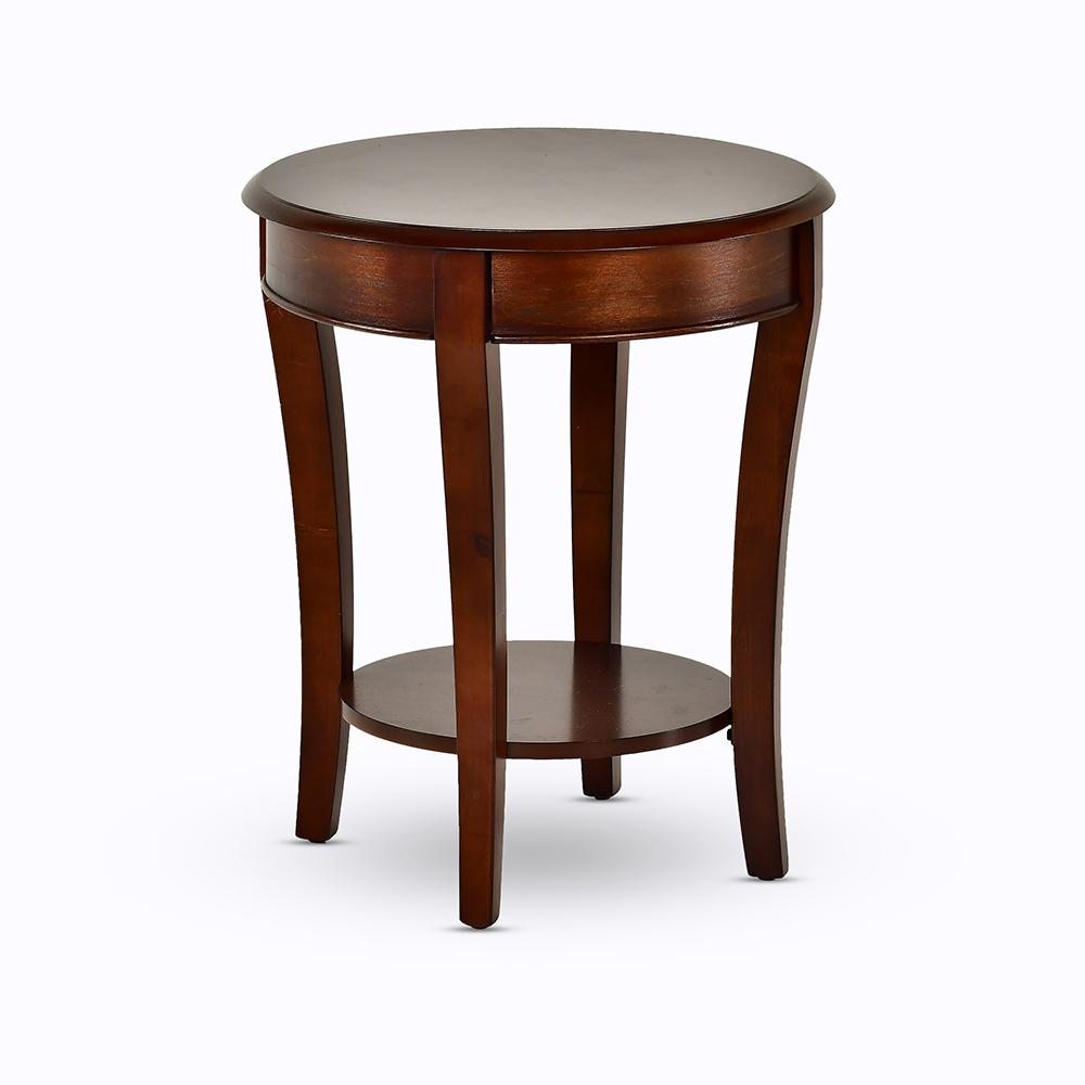 troy medium cherry traditional end table the tables what color pillows for brown leather couch coloured nest pallet rustic furniture inch dog crate free shipping ashley tures