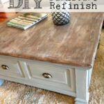 turn your plain furniture into farmhouse fabulous diy table refinish end tables refinished house projects black iron etsy mid century coffee cream wood metal rectangular patio 150x150