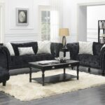twain black sofa loveseat badcock more end tables ture table front window crystal bedside lamps small tall coffee white wood set unfinished furniture san bernardino corner 150x150