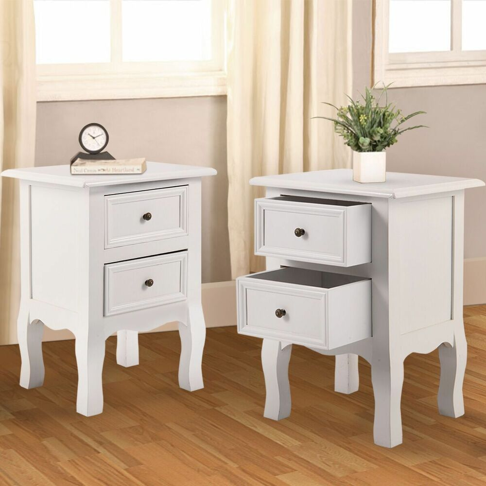 two nightstand bedside end table cupboard bedroom furniture storage tables details about drawers girl twin beds second hand lamp replacement tempered glass for patio small tile