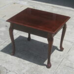 uhuru furniture collectibles sold square queen anne end table ashley good living room paint ideas brown couches parsons side ethan allen pine trestle diy big dog house universal 150x150