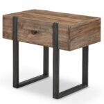 union rustic sharri modern end table reviews furniture tables coffee makeover king bedside units round wrought iron brass grey couch living room ideas french provincial white 150x150