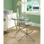 unique metal and glass end tables painting for your house large nesting gold leaf top coffee table big contemporary mini fridge thin accent with chairs underneath kirklands 150x150