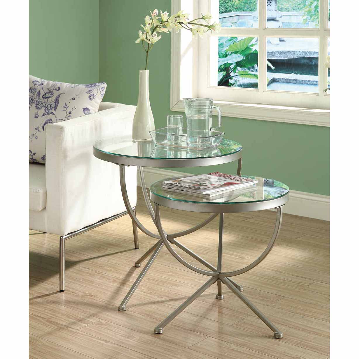 unique metal and glass end tables painting for your house large nesting gold leaf top coffee table big contemporary mini fridge thin accent with chairs underneath kirklands