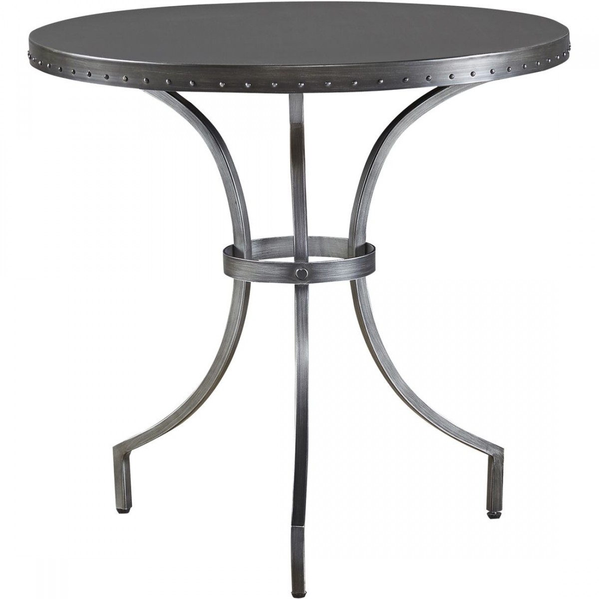 universal furniture curated eliston round end table oiled bronze tables indoor lighting kitchen top replacement mid century glass dining black pipe workbench solid steel dog crate