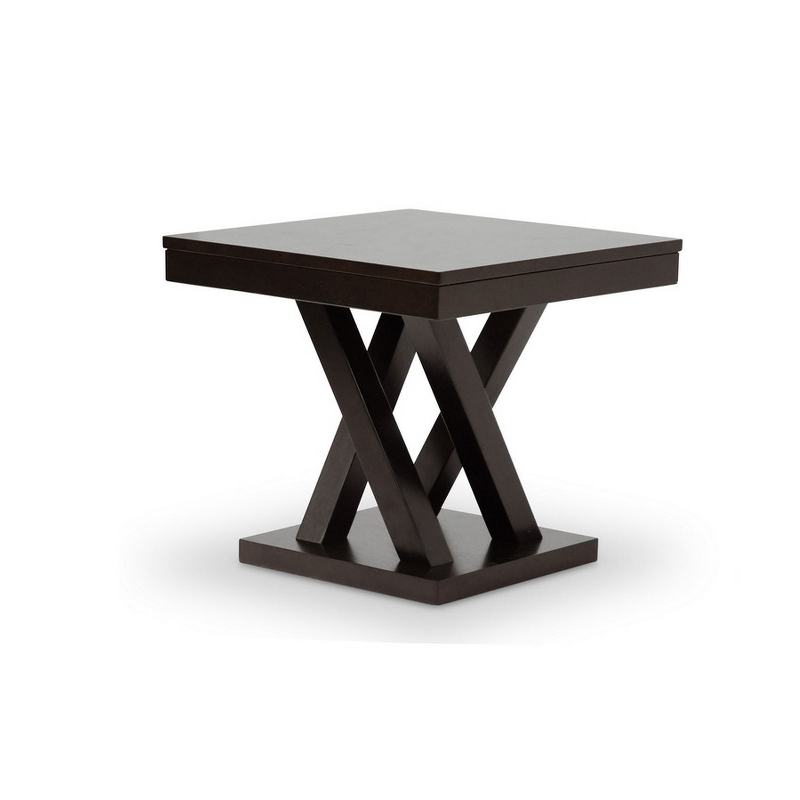 urban designs inch everdon dark brown modern end table black contemporary tables free shipping today vintage white nightstand country style sofa cool metal rustic kitchen and