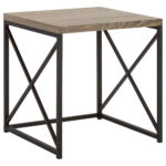 veneer and metal side table bouclair coffee tables end lamp size pallet dining chair nesting with storage cube black inch wide bedroom furniture minneapolis custom glass tops for 150x150