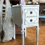 vintage nightstand grey gray end bedroom tables table distressed shabby chic side cadillyprairie twin mattress and frame set pipe decor rustic drop leaf dining patio lounger 150x150