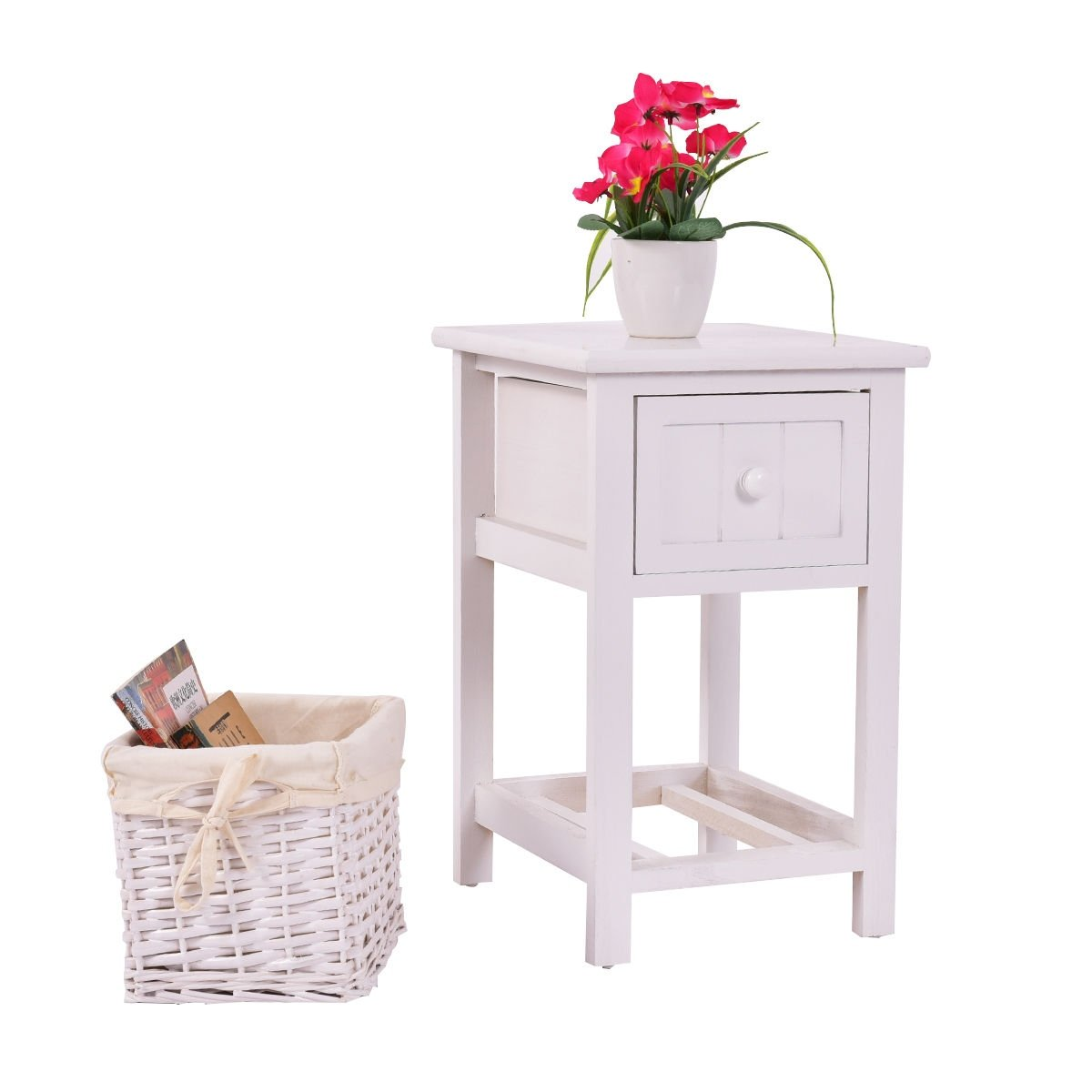way night stand layer drawer bedside end table two bedroom tables organizer wood basket kitchen dining second hand lamp mainstays furniture assembly instructions what color throw