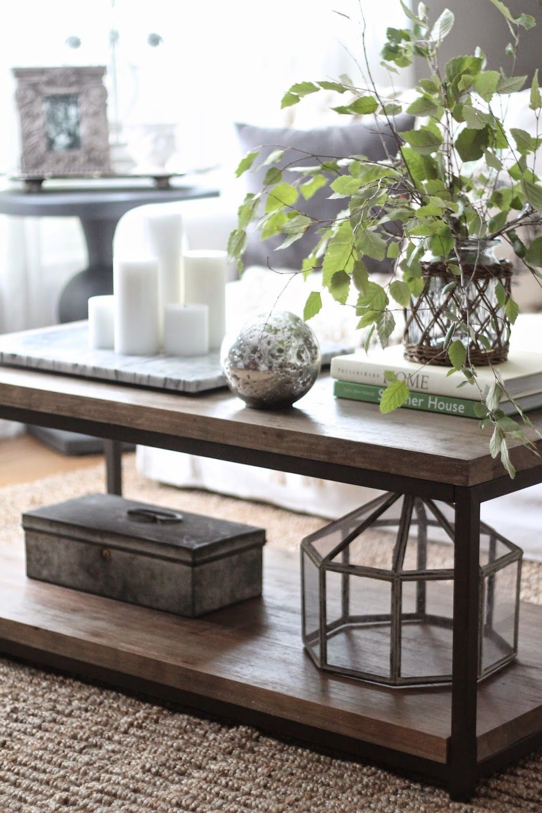 ways style coffee table home blog decorating farmhouse end decor with lots tips and tricks from each look sofa black oversized square sauder retailers side dimensions unfinished