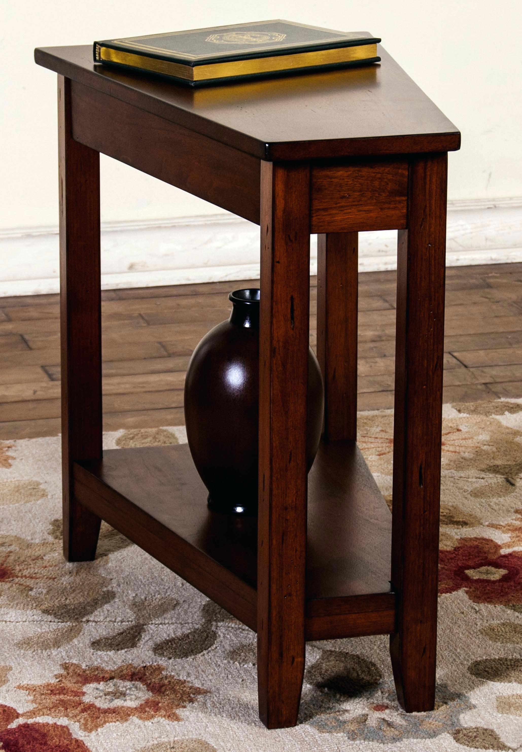 wedge end table universal furniture with drawer coop storage tables ashley chair and ott made from wooden pallets floor homesense clocks foot inexpensive log leather out style