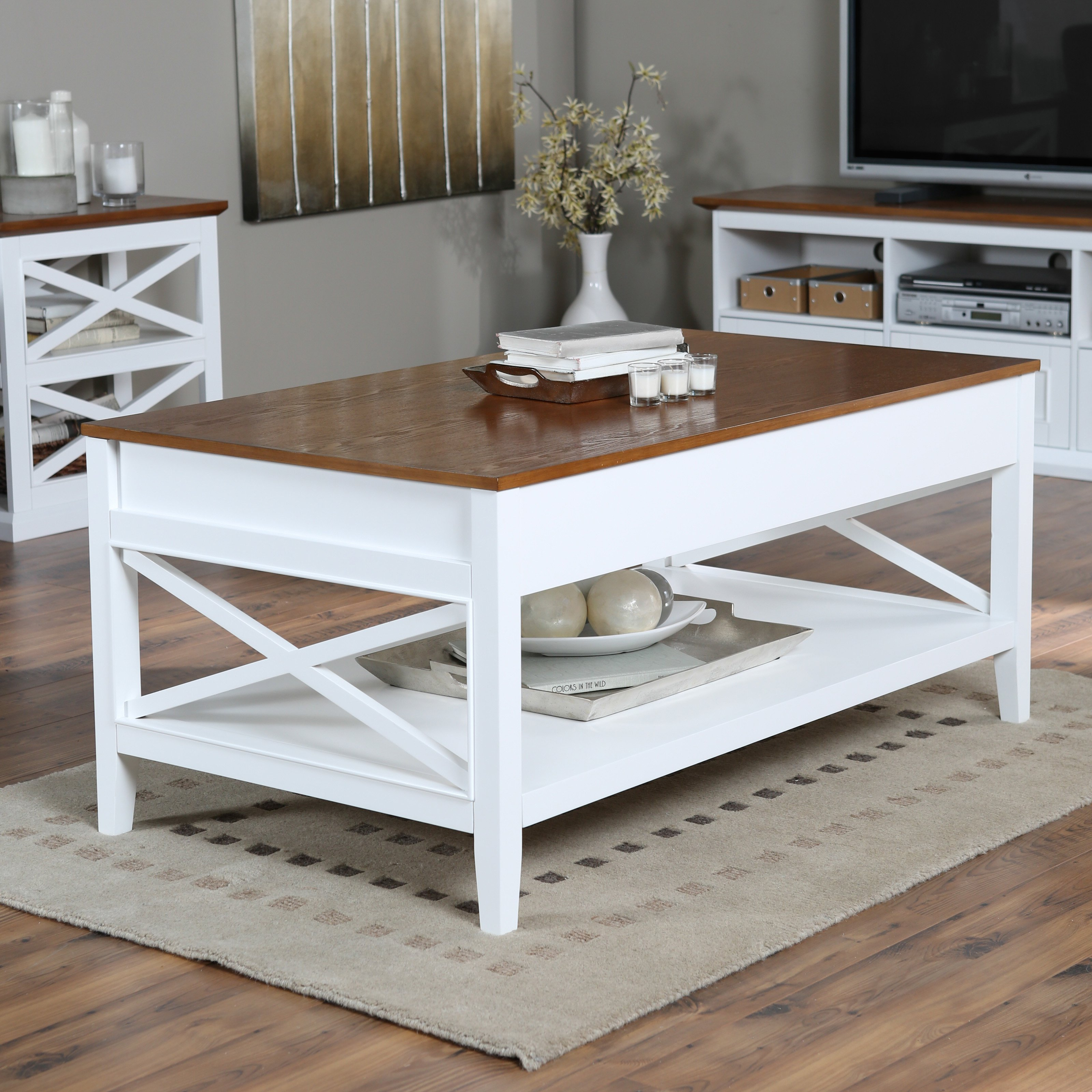 white coffee table wooden top design ideas belham living hampton lift oak master end small side plans rustic wedding decorations black marble dark off tables half round modern