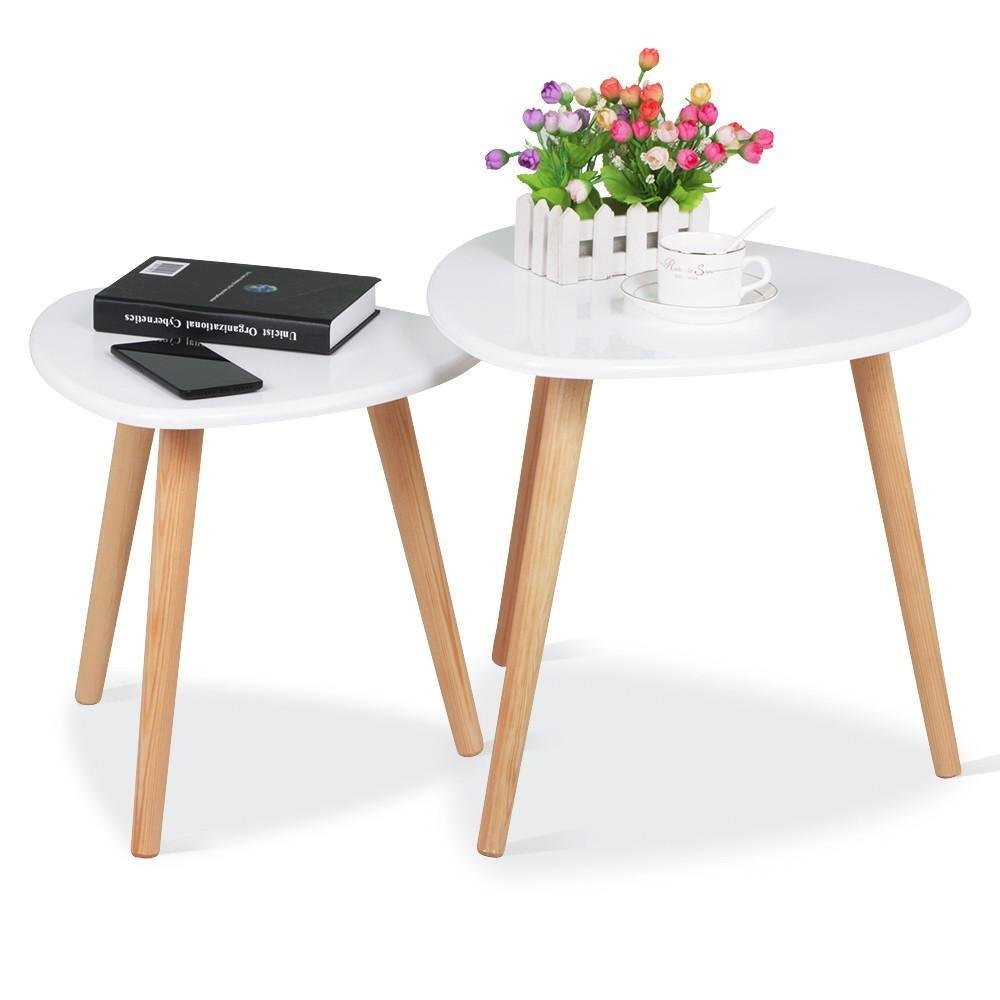 white gloss wood nesting tables living room sofa side end table set riverside harmony furniture glass dining for wall mounted bathroom cabinet small black with drawer bedside
