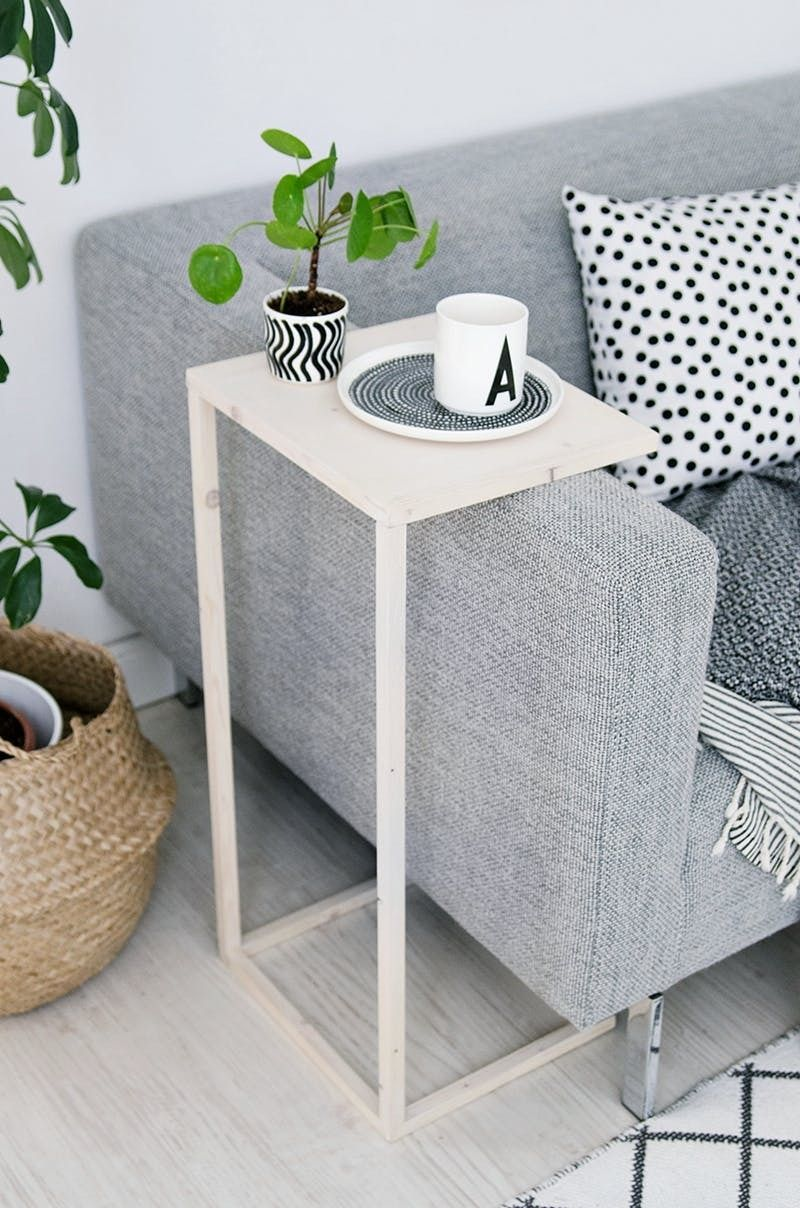 who says every living room needs coffee table clever substitutes end tables for small rooms truly tiny apartments not uncommon renters forego the traditional simply squeeze little