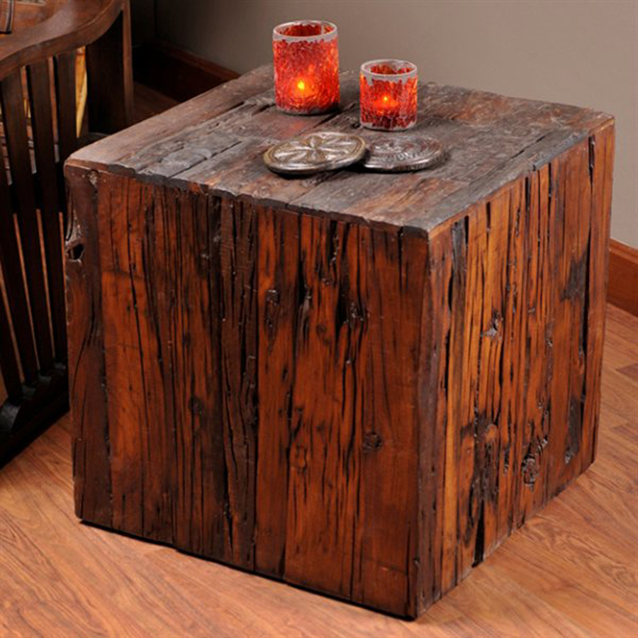william sheppee saal dark brown wood rustic end table tables dining room furniture brands ethan allen catalog marble sofa etsy vintage jewelry kmart mobile coupons universal panel