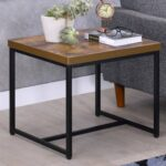 williston forge campo contemporary rectangular wood and metal end table tables ashley furniture reviews small for patio cat big black coffee matching entertainment center antique 150x150