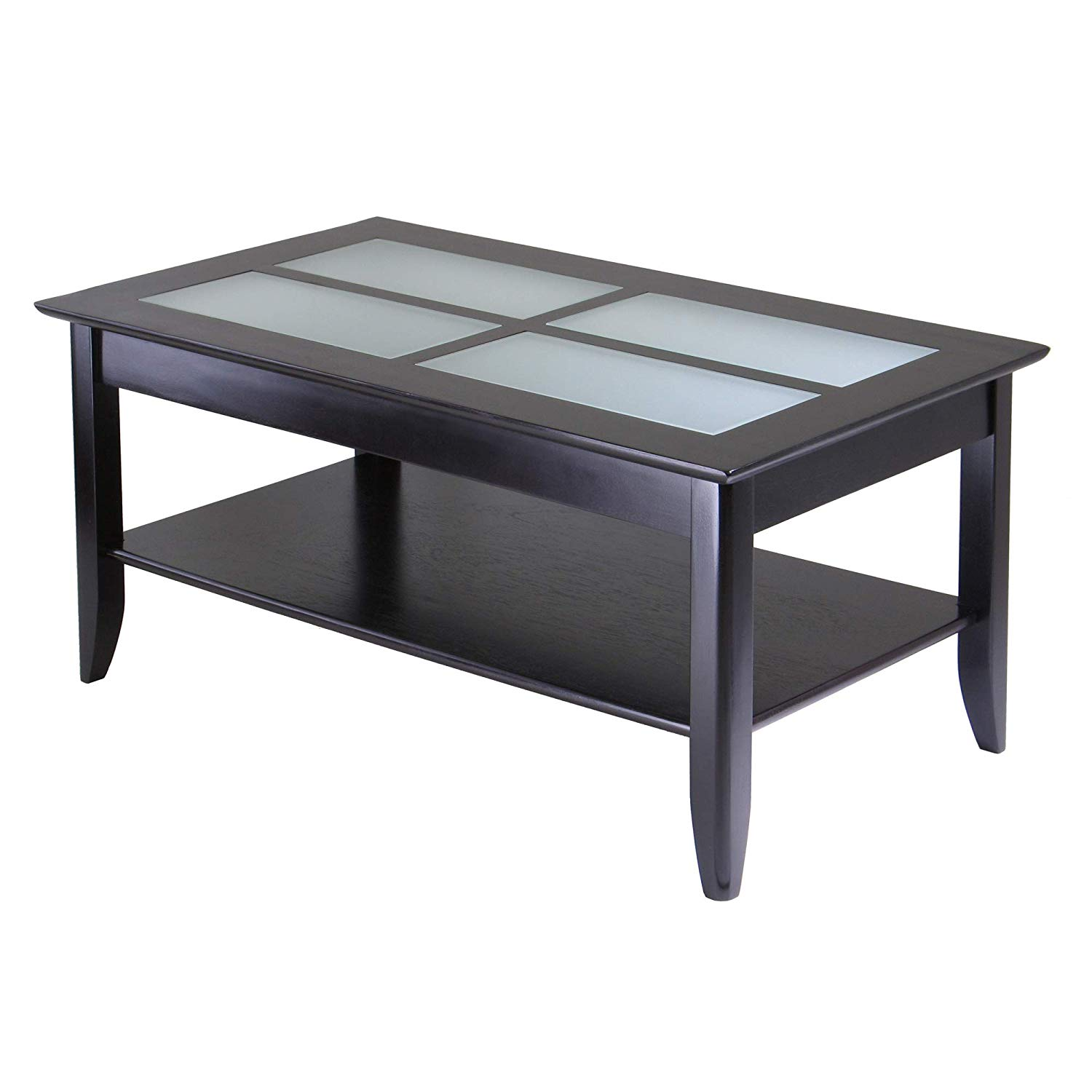 winsome syrah occasional table espresso kitchen end dining ashley furniture marsilona vintage half round thomasville mainstays side instructions leons ottawa black glass coffee