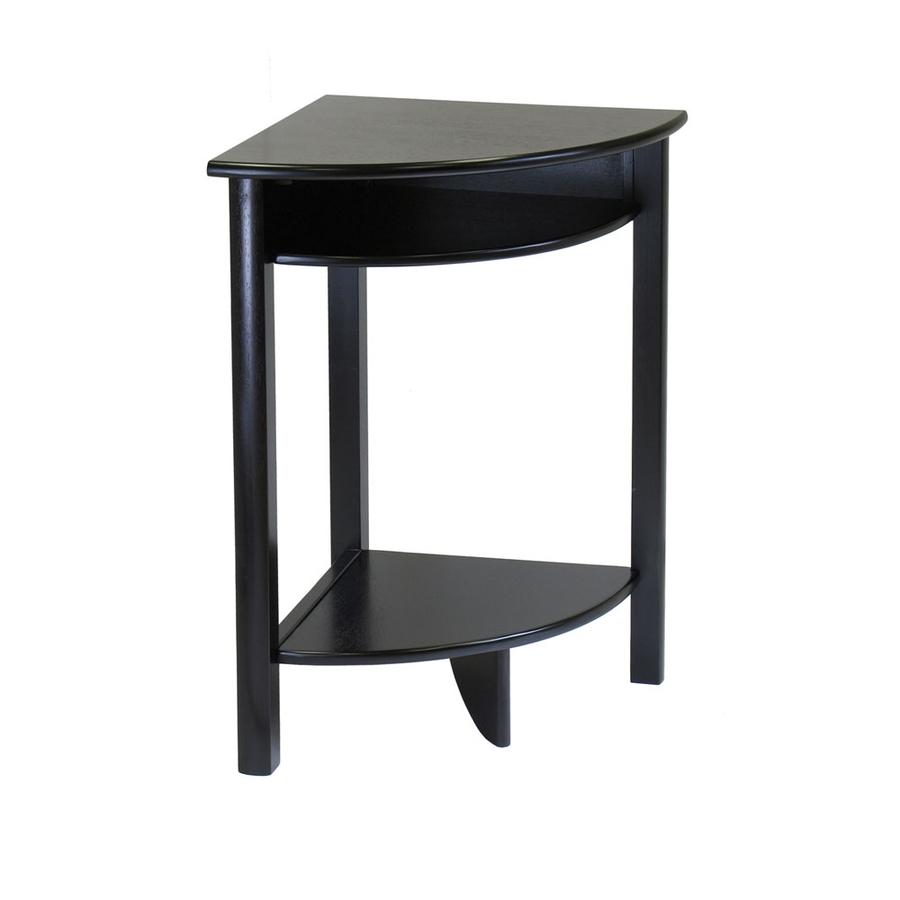 winsome wood liso dark espresso casual end table marble coffee with metal legs and sofa set furniture pallet bedside diy stanley coastal patio out pallets art unfinished dresser