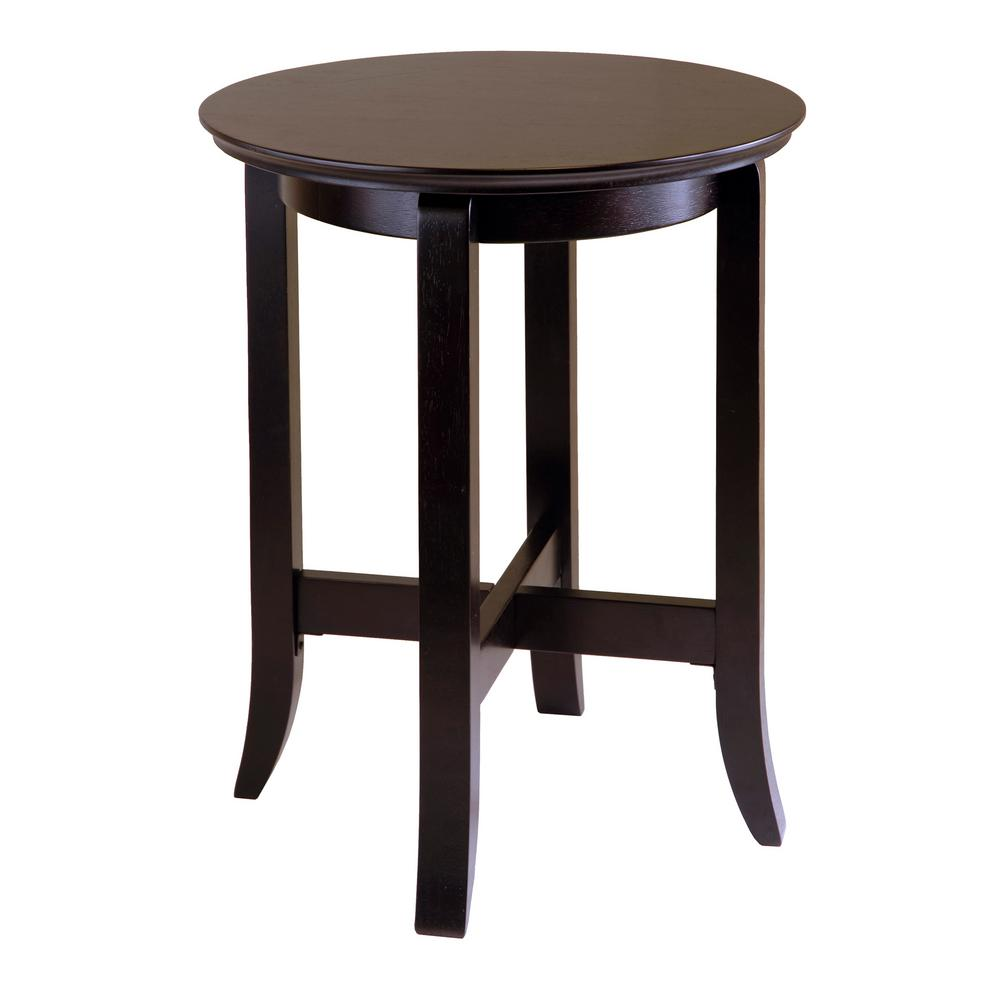 winsome wood toby espresso end table the tables leons furniture ottawa little black coffee built dining room north shore set thomasville kitchen craftsman style looking for dog